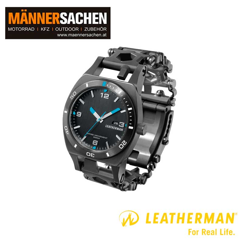 Leatherman Tread Armbanduhr Tempo black